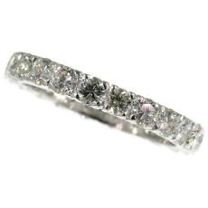 Estate diamond eternity band by Unknown Artist