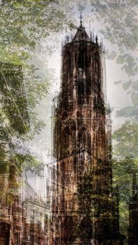 The Dom Tower of Utrecht by Jack Marijnissen