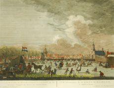 GEZICHT VAN DE HAARLEMMER-POORT, OP DE BUITEN-SINGEL TE ZIEN, TE AMSTERDAM by Fouquet jr., Pierre