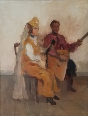 Balalaika players