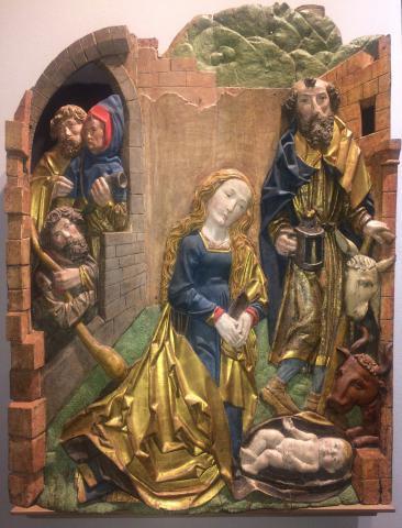 Woodcarving in the circle of Riemenschneider by Tilman Riemenschneider