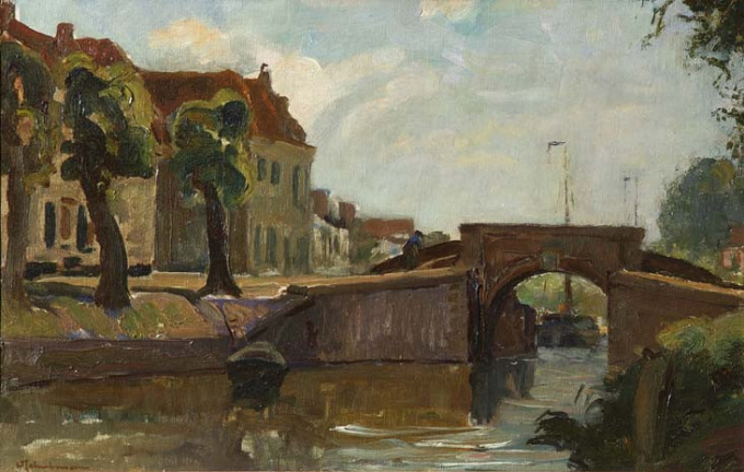 Bridge at Naarden by David Schulman