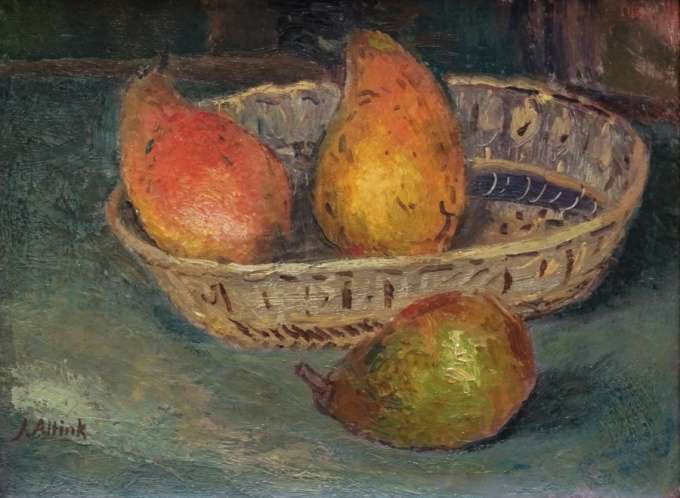 Stil life with pears by Jan Altink