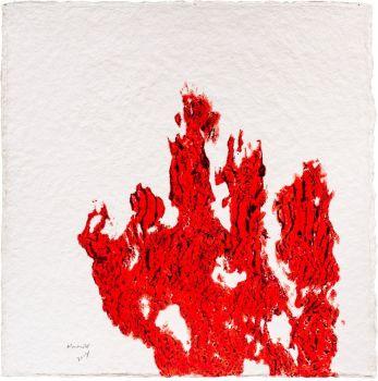Hand (rot) by Armando .