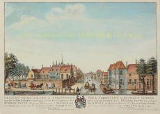 Den Haag, Delftse Trekvaart  by  Hendrik Florisz. Scheurleer