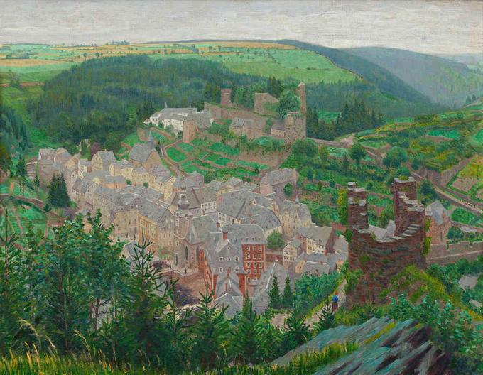 View of Montjoie by Ferdinand Hart Nibbrig