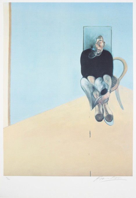 Study for Selfportrait, 1984 by Francis Bacon