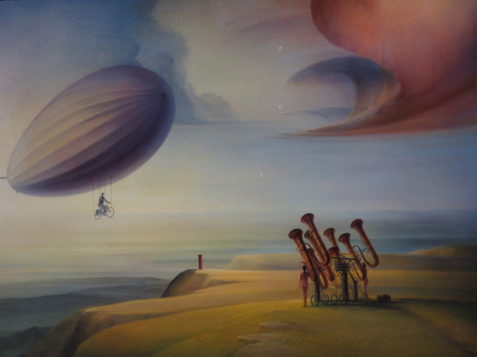Art vs News by Peter van Straten