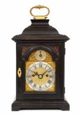 A rare miniature English quarter repeating table clock by Rimbault, circa 1750 by Rimbault London