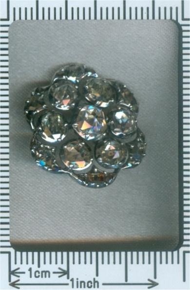 18th Century diamond button by Unknown