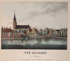 Broek in Waterland, 1838 by Buffa & Zn.