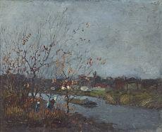 Oude Laan van Meerdervoort, Den Haag by Jan Toorop