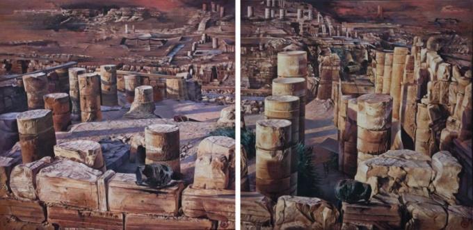 Lost Worlds by Gerti Bierenbroodspot