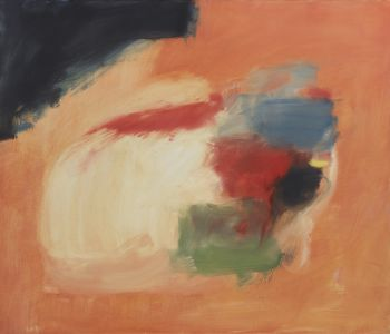 Composition au fond orange by Eugene Brands