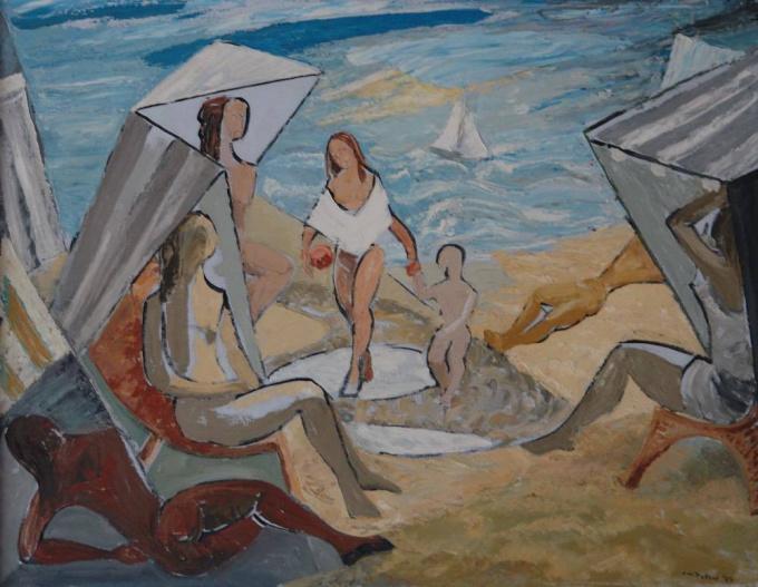 Strand by Jan Tebben