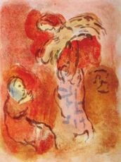 Ruth Glaneuse by Marc Chagall