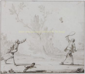 Badminton  by  Johann Heinrich Keller