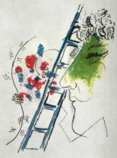 L'Echelle by Marc Chagall