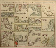 PORTS AND HARBORS OF NORTH AND SOUTH AMERICA AND THE WEST INDIES  by Covens & Mortier