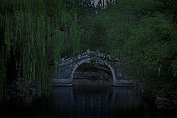 Blue Bridge by Shen Wei