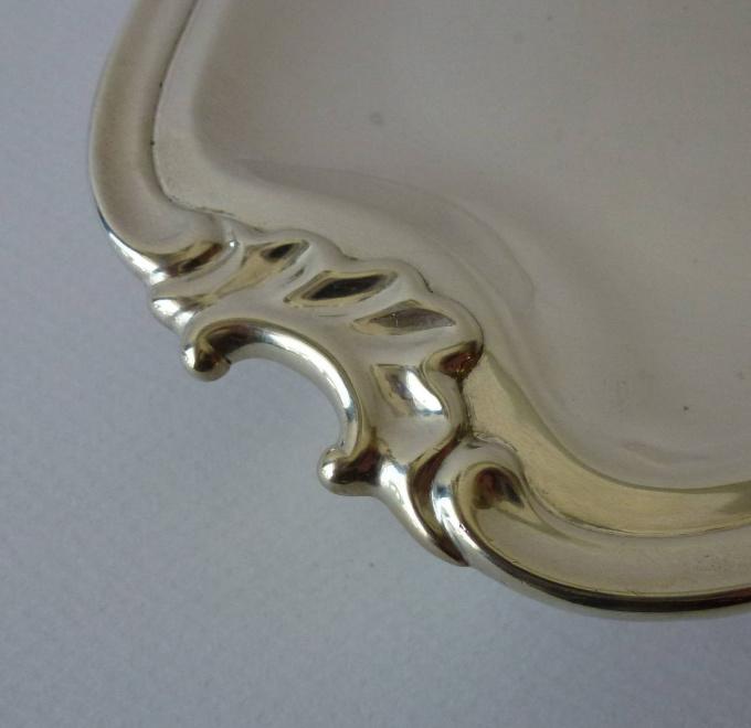 A Dutch silver salver by Isaac Samuel Busard