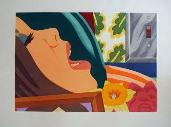 Bedroom Face by Tom Wesselmann