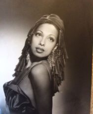 A very rare photo of Josephine Baker by Harcourt