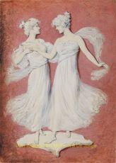 Postcard designs  by Meisner & Buch