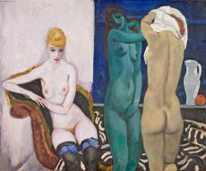 Three Female Nudes by Jan Sluijters