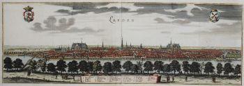 Leiden  by  Caspar Merian