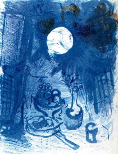 Nature Morte Bleue by Marc Chagall