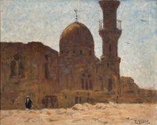 Ruines de la Mosque d'Akzonkor, Le Caire (Cairo, Egypt) by Philippe Zilcken