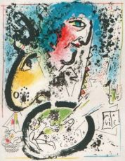 Autoportrait by Marc Chagall