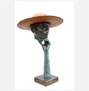 Big hat by Rob van den Broek