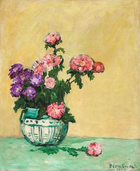Flower Still Life by Francis Picabia