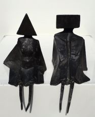 Sitting figures by Lynn Chadwick