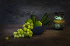 Green Vegetables by Mos Merab Samii