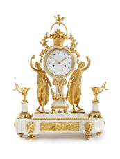 A Louis Seize ormolu pendule by Unknown Artist