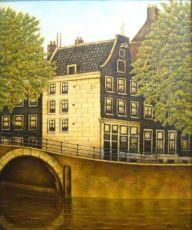 Reguliersgracht, Amsterdam by Sal Meijer