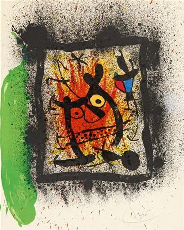 'Das Lebenslängliche Interview' by Joan Miró