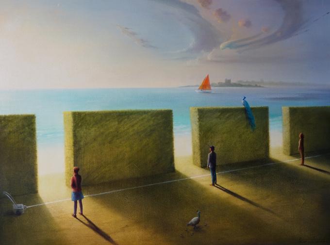 The Line by Peter van Straten