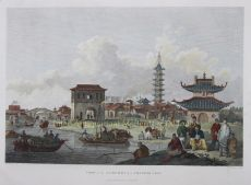 View of the Suburbs of a Chinese City by Alexander, William (1767-1816)