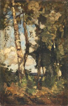Forest Passage Wolfheze by Theophile de Bock
