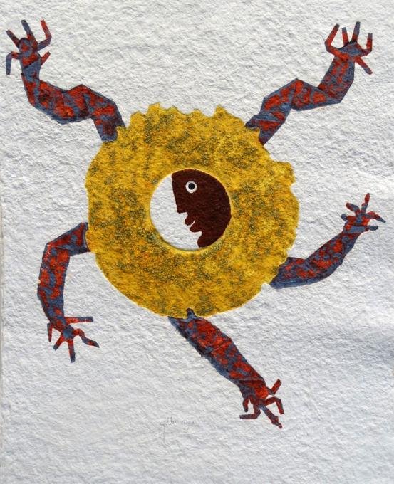 Sol Grabado by Juan Ripollés