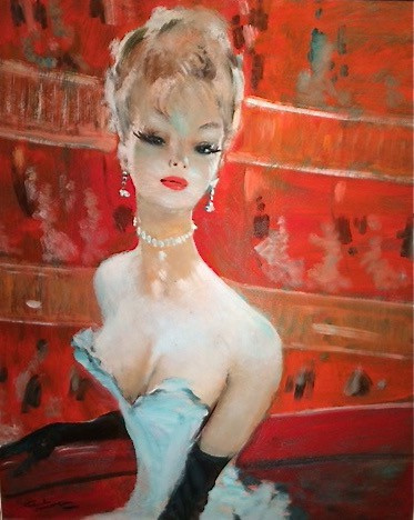 Lily in the Opera by Jean-Gabriel Domergue