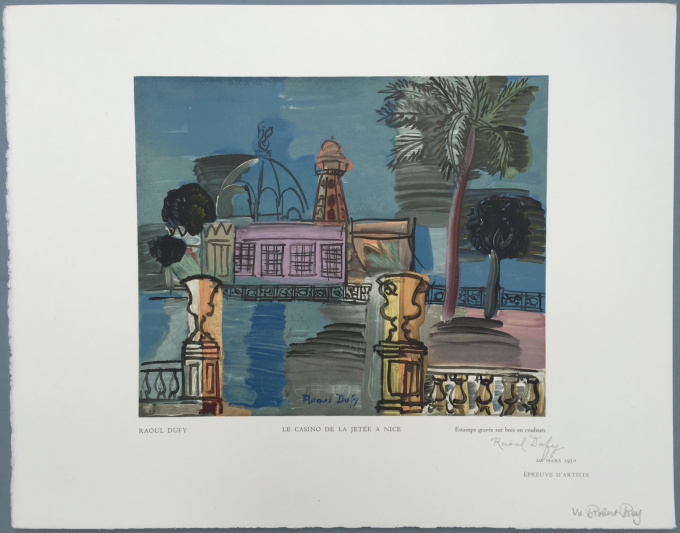 Le Casino de la Jetée a Nice by Raoul Dufy