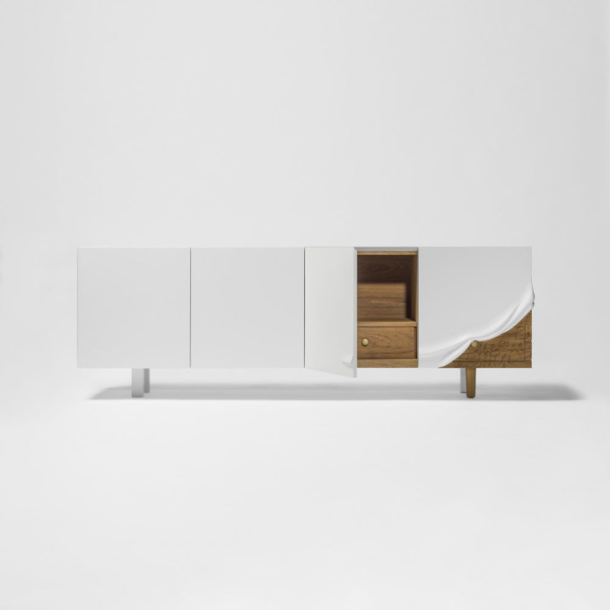 Talisman Cabinet by Maysam Al Nasser