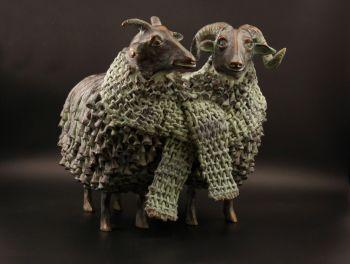 Wollig Echtpaar (Fluffy Couple) by Annemarie van der Kolk