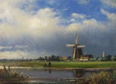 After the rain by Lodewijk Johannes Kleijn