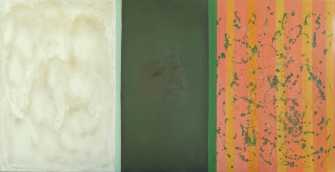 'Jerusalem' - triptych by Krikor Momdjian